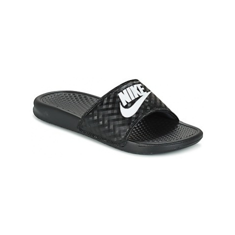 Nike BENASSI JUST DO IT W women's in Black