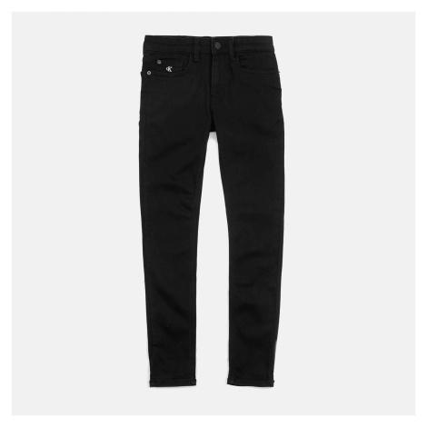 Calvin Klein Boys' Skinny Jeans - Clean Black Stretch