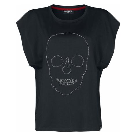 Rockupy - Stone Skull - Girls Top - black