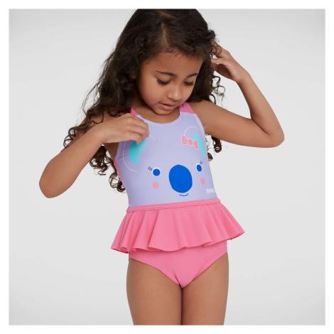 Kids Koko Koala Frill Swimsuit Speedo