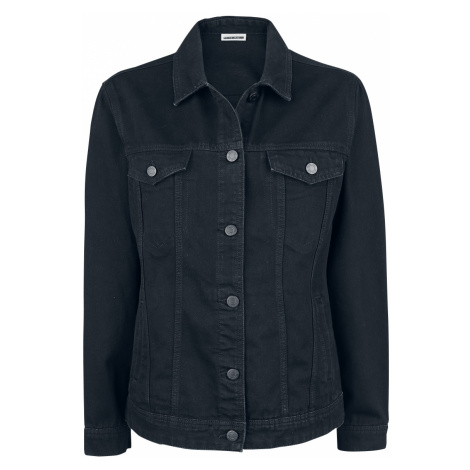 Noisy May - Ole Black Denim Jacket - Girls Jeans Jacket - black