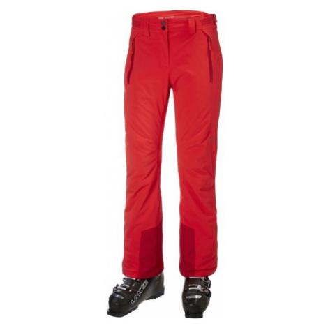 Helly Hansen ALPHELIA PANT W red - Women's ski pants