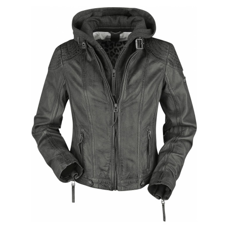 Gipsy Cacey LEGV Leather Jacket anthracite