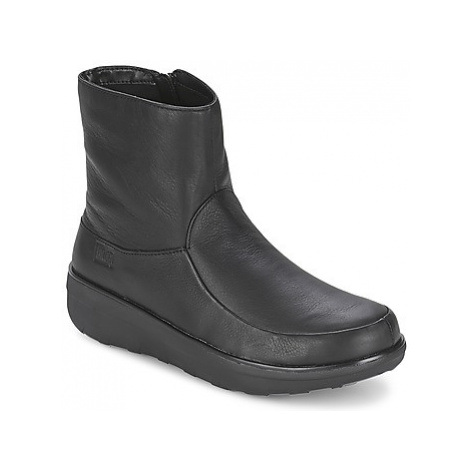 FitFlop LOAFF SHORTY ZIP BOOT women's Low Ankle Boots in Black