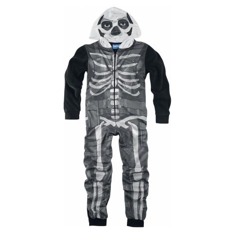 Fortnite - Skull Trooper - Overall - black-white