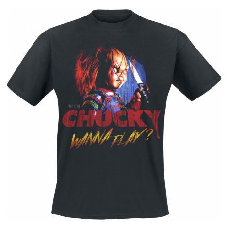 Chucky - Wanna Play? - T-Shirt - black