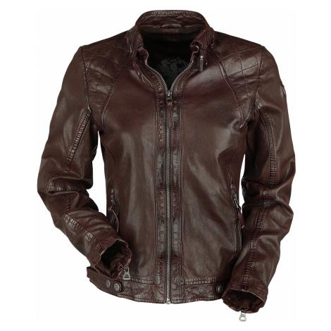 Gipsy - Roxie LVTW - Girls leather jacket - wine red