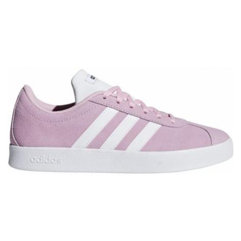 adidas VL COURT 2.0 K pink - Kids' leisure shoes