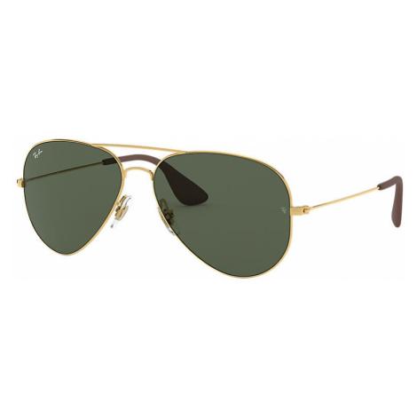 Ray-Ban Rb3558 Unisex Sunglasses Lenses: Green, Frame: Gold - RB3558 001/71 58-14