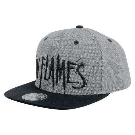 In Flames - Logo - Snapback Cap - black-grey