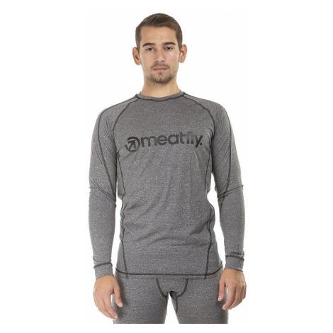 T-Shirt Meatfly Chuck Termo LS - A/Gray Melange - men´s