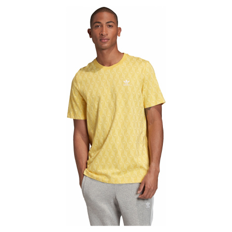 adidas Originals Mono Allover T-shirt Yellow