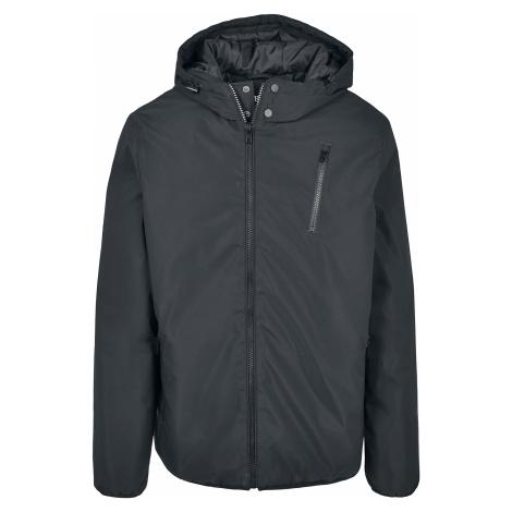 Urban Classics - Hooded Sporty Zip Jacket - Jacket - black
