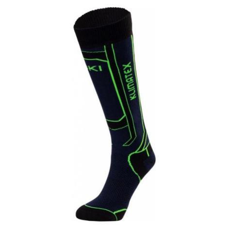 Klimatex NOGY black - Kids' ski knee socks