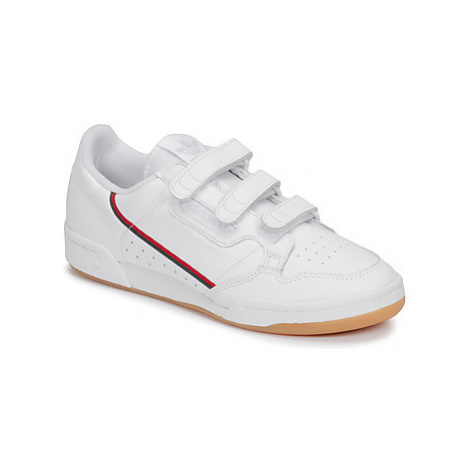 Adidas CONTINENTAL 80 STRA women's Shoes (Trainers) in White