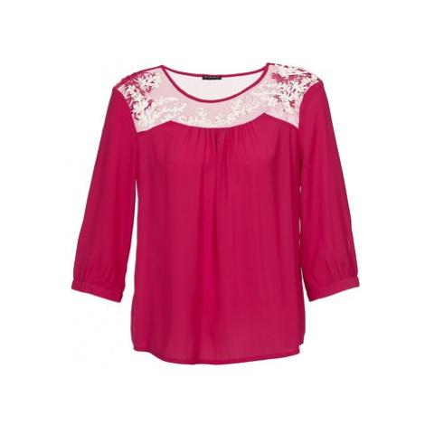 Sisley FATTALO women's Blouse in Pink