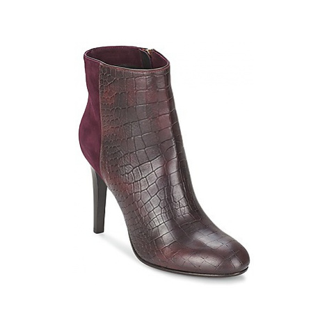 Alberto Gozzi GRINGO MANDORLA women's Low Ankle Boots in Red