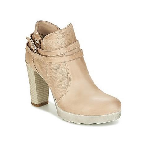 Sweet Lemon RARISS women's Low Ankle Boots in Beige