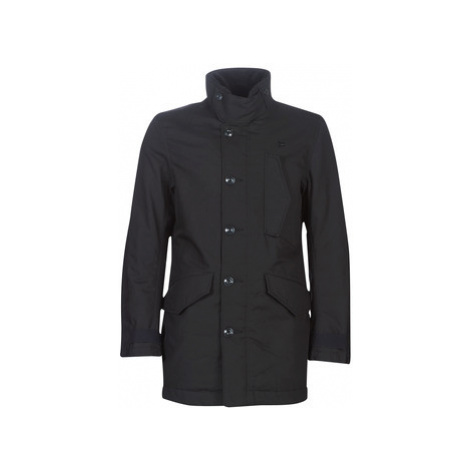 G-Star Raw SCUTAR UTILITY PADDED TRENCH men's Trench Coat in Black