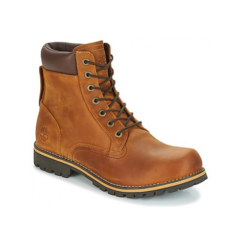 Timberland EK RUGGED 6 IN PLAIN TOE BOOT men's Mid Boots in Brown