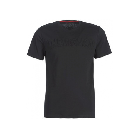Chevignon ADRIEN men's T shirt in Black