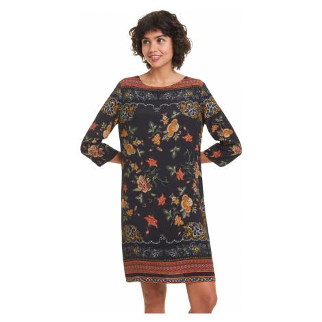 Desigual Praga Dress Black Colorful