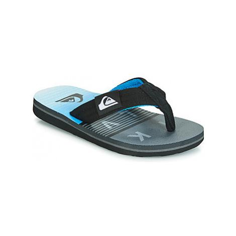 Quiksilver MOLOKAI LAYBACK YTH B SNDL XKSB girls's Children's Flip flops / Sandals in Black