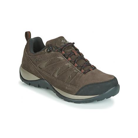 Columbia REDMOND V2 LEATHER WATERPROOF men's Walking Boots in Brown