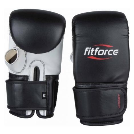 Fitforce WIDGET black - Boxing gloves