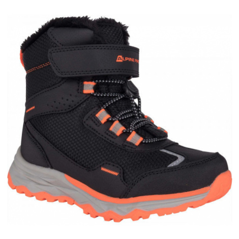 ALPINE PRO VESO black - Children's winter shoes