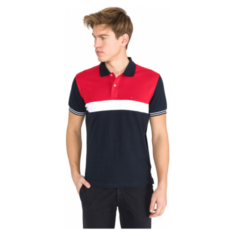 Tommy Hilfiger Polo Shirt Blue Red