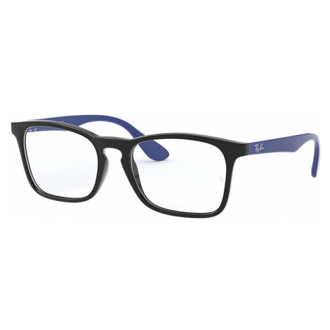 Ray-Ban Rb1553 Unisex Optical Lenses: Multicolor, Frame: Blue - RB1553 3726 48-16