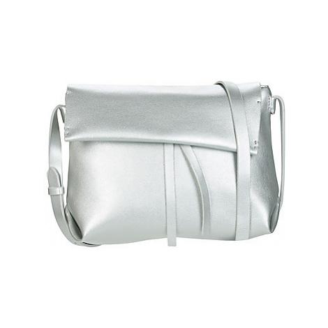 Clarks CABANA COVE women's Shoulder Bag in Silver