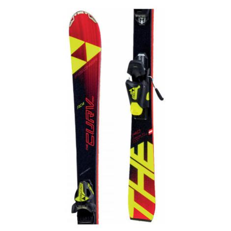 Fischer THE CURV PRO JR. + FJ7 - Kids' downhill skis