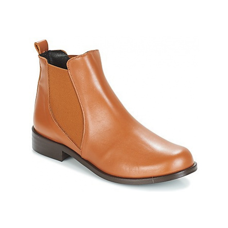 So Size JEBIE women's Mid Boots in Brown