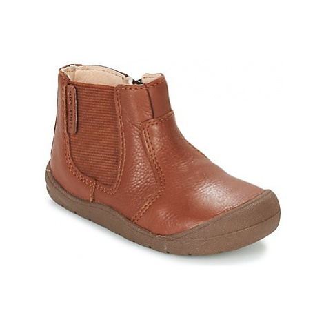 Start Rite FIRST CHELSEA girls's Children's Mid Boots in Brown