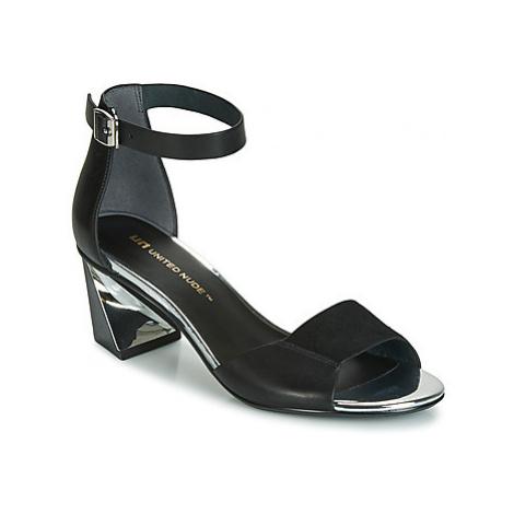 United nude TWIST SANDAL women's Sandals in Black