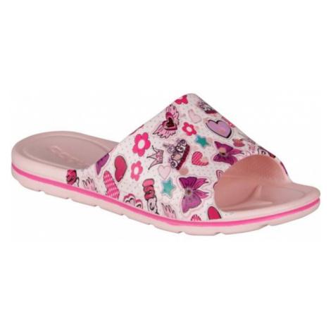 Coqui PRINTED pink - Children's slides