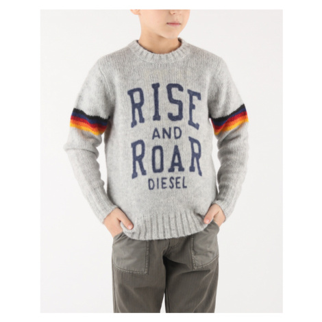 Diesel Klash Kids sweater Grey