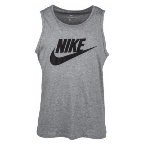 Nike NSW TANK ICON FUTURA grey - Men's tank top