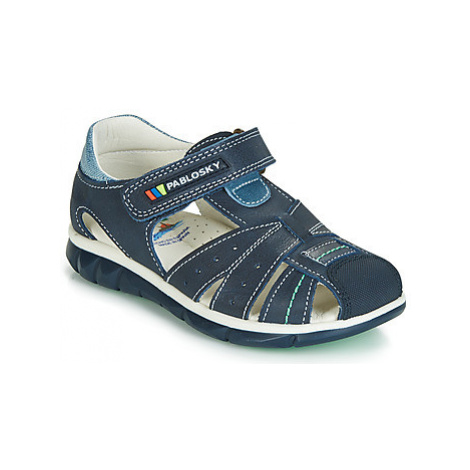 Pablosky 589026 boys's Children's Sandals in Blue