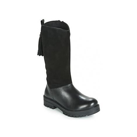 Gioseppo KRAUPA girls's Children's High Boots in Black