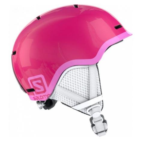 Salomon GROM pink - Kids' ski helmet