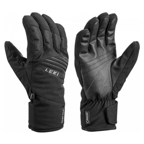 Leki SPACE GTX black - Downhill ski gloves