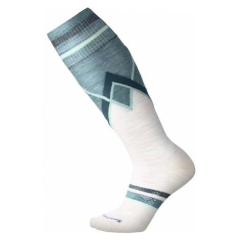 Smartwool PHD SKI ULTRA LIGHT P W white - Women's knee socks