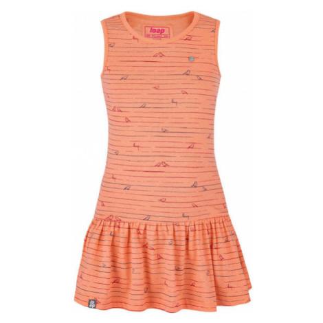 Loap BARISA orange - Girl's dress