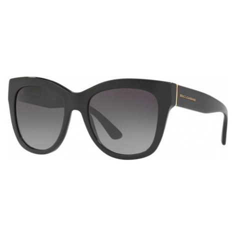 Dolce And Gabbana Woman DG4270 - Frame color: Black, Lens color: Blue, Size 55-19/140