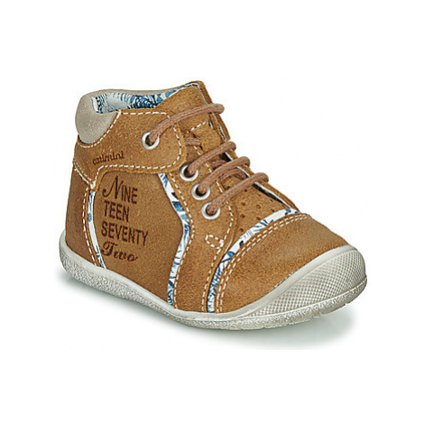 Catimini SEREVAL boys's Children's Mid Boots in Brown