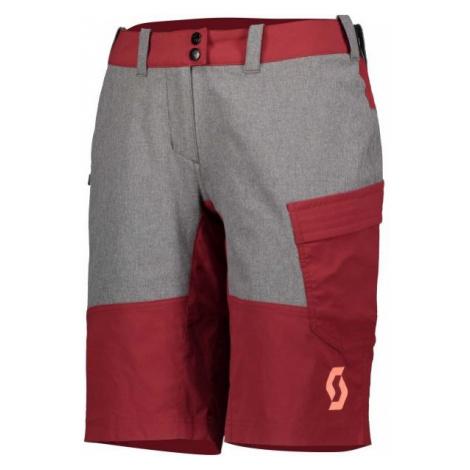 Scott TRAIL FLOW W/PAD W red - Women's shorts