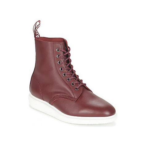 Dr Martens WHITON women's Mid Boots in Red